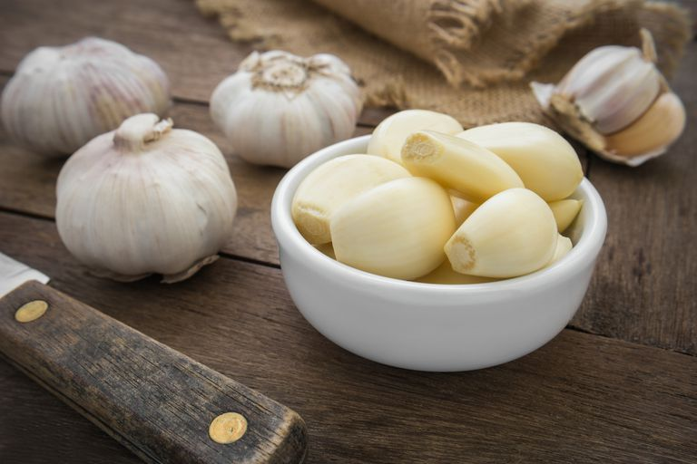 Garlic may lower cancer risk in several ways