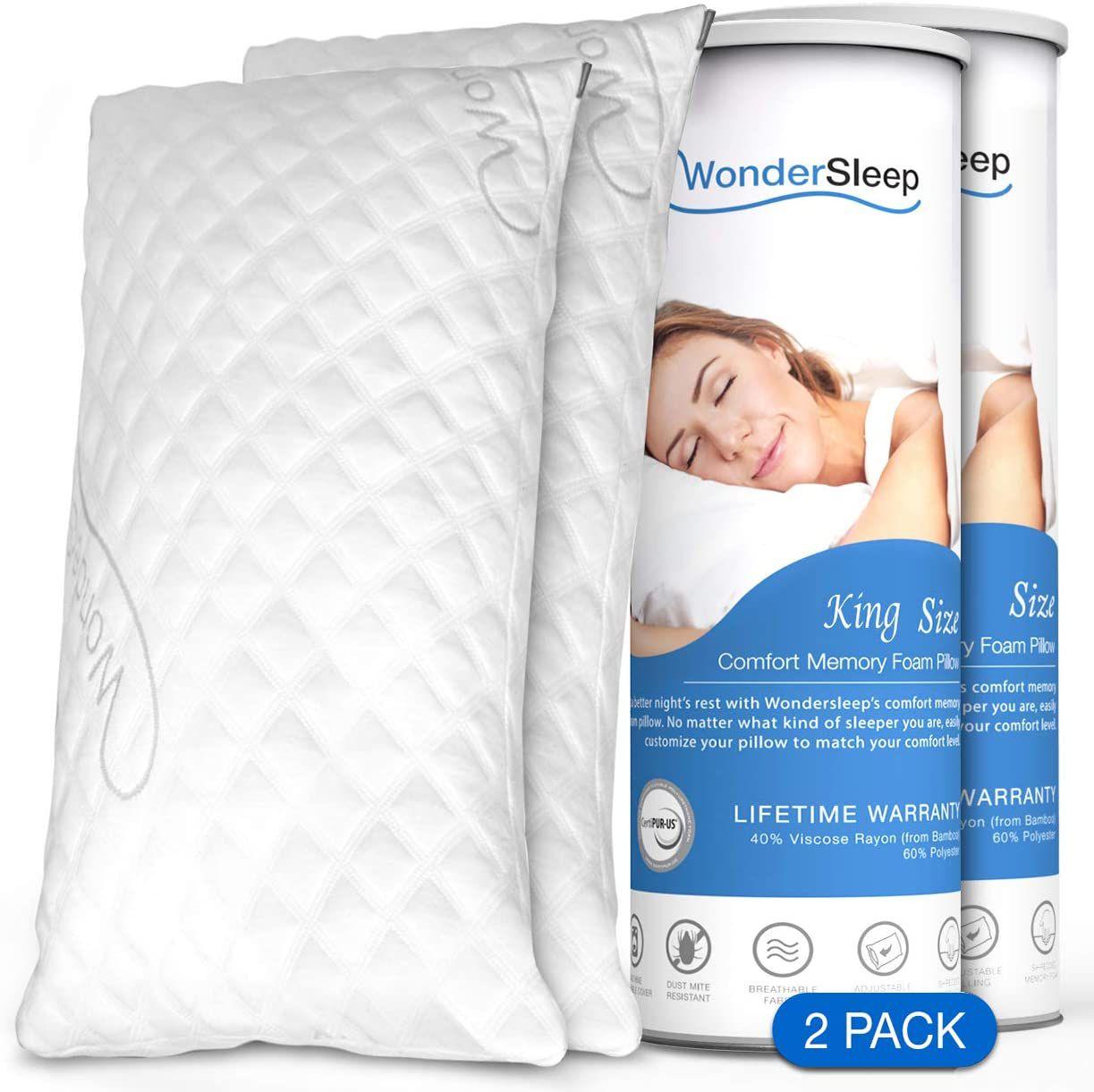 WonderSleep Premium Adjustable Loft
