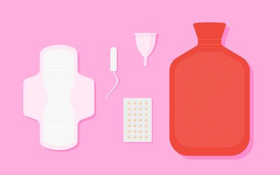 Menstrual products.