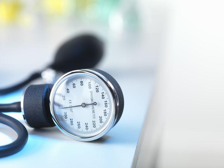 Blood pressure gauge in Doctors surgery