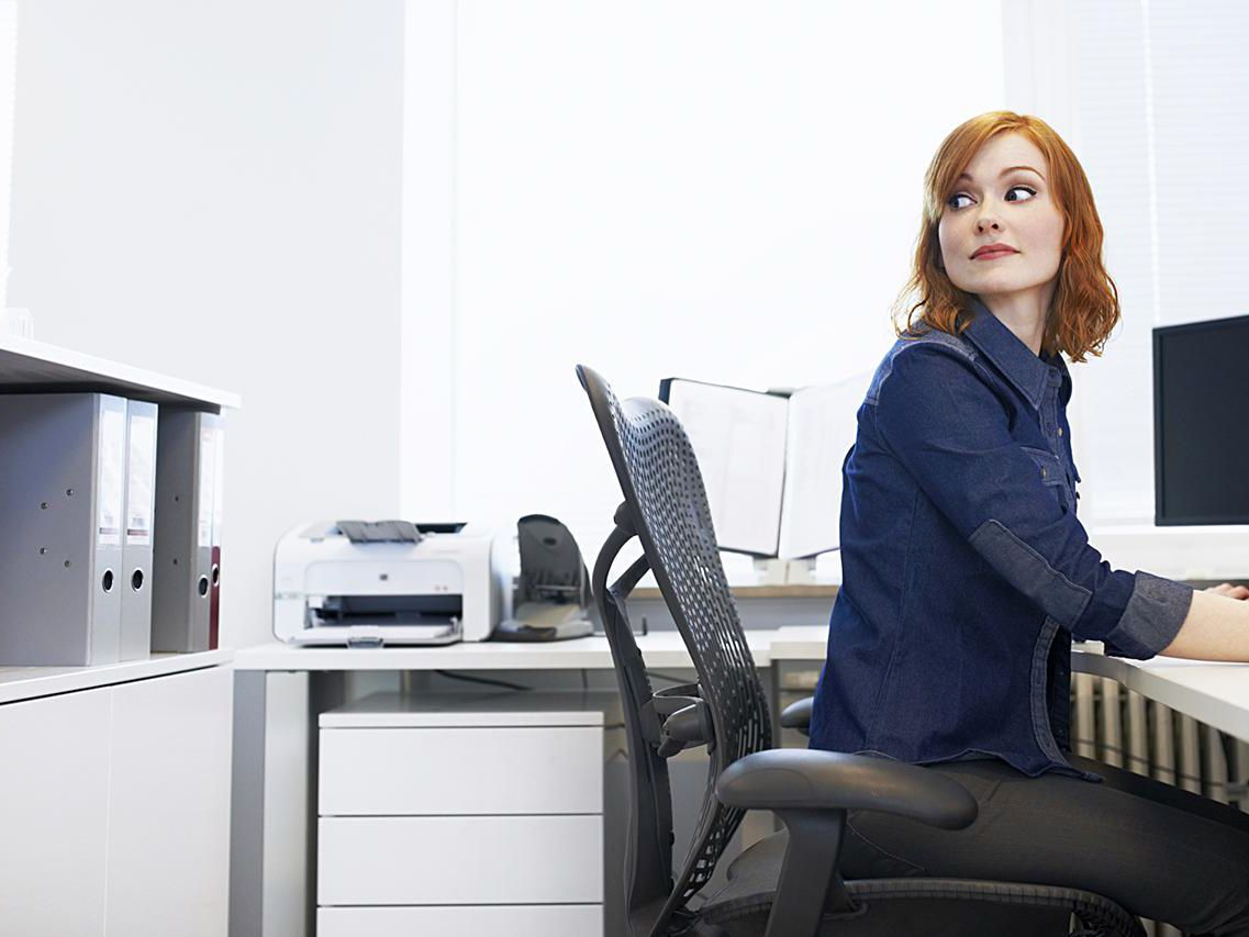 Your Office Chair Height And Angle Causing Back Pain