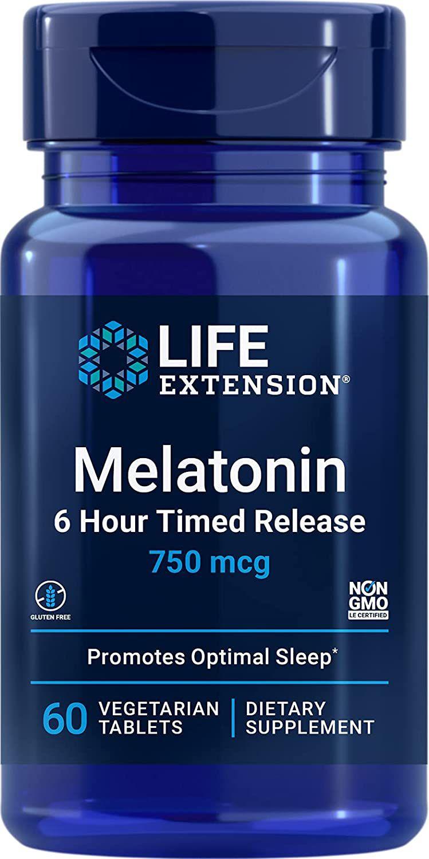 Life Extension Melatonin Vegetarian Tablets