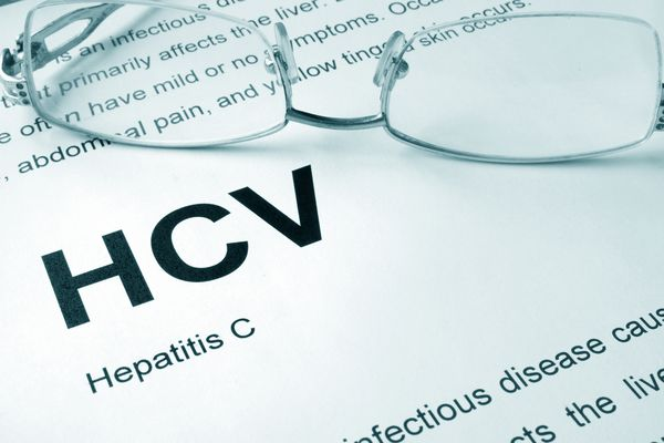 HCV written on a page.