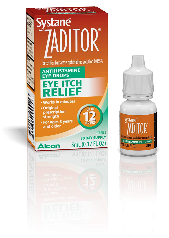 Zaditor Eye Itch Relief Antihistamine Eye Drops