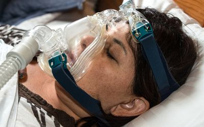 ResMed AirSense 10 CPAP Machine Treats Sleep Apnea