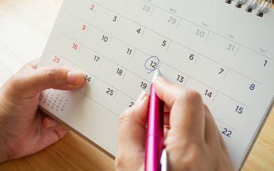 woman tracking ovulation