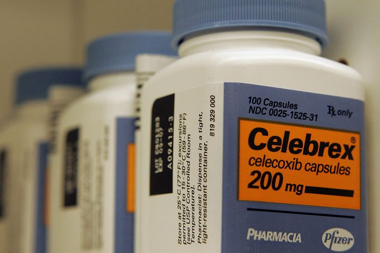 Bottles of Celebrex capsules.