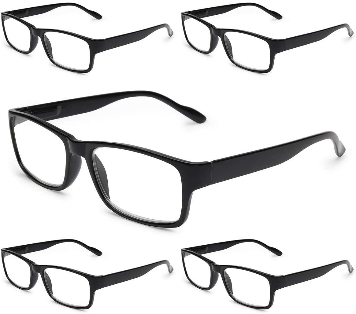 Gaoye 5-Pack Reading Glasses
