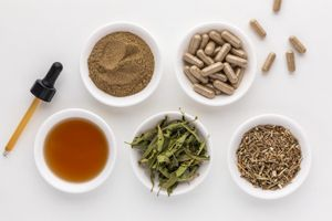 Vervain tincture, powder, capsules, tea, and dried herb