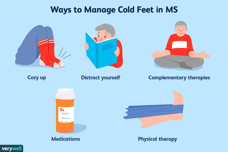 cold feet treatment