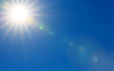 Bright sun can worsen rosacea
