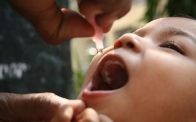 Two polio drops of safety