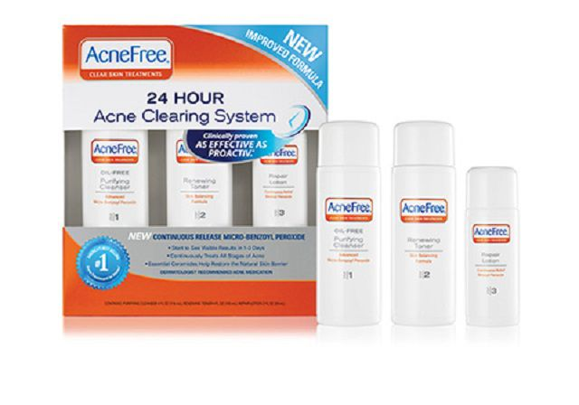 acne free 24 hour severe acne clearing system review