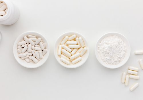 Coral calcium tablets, capsules, and powder