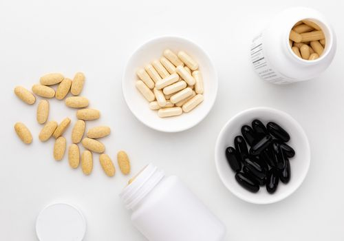 Boswellia capsules, tablets, and softgels