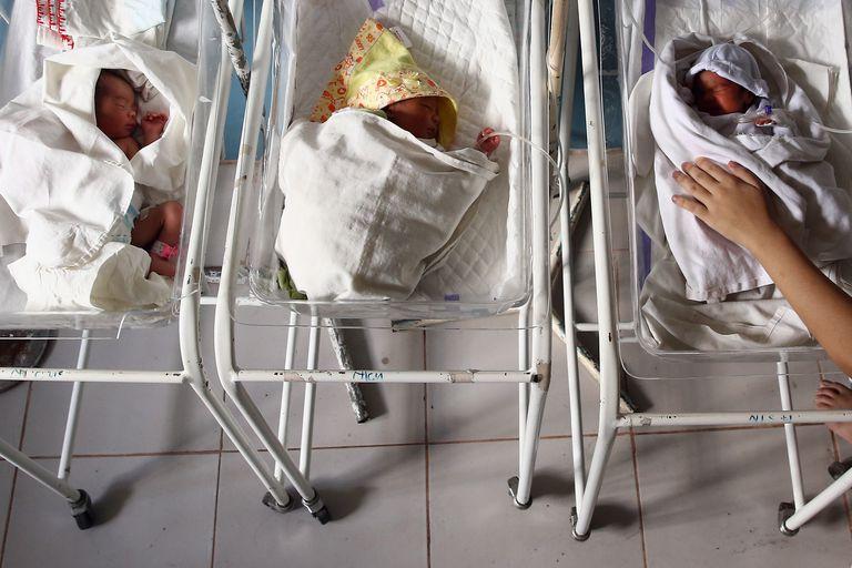 Newborn Babies in hospital