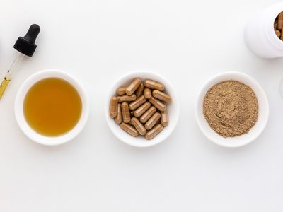 Maral root tincture, capsules, and powder