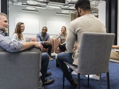 support group talking