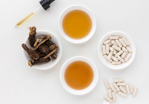 Osha capsules, tincture, liquid, dried herb