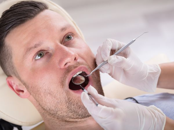 Mouth sores are a sign of chronic graft-versus-host disease