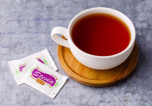 Tea with stevia