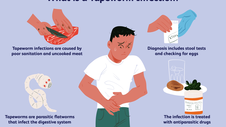 Boala piticului de tip tapeworm, Motivele pentru hymenolepiasis înfrângere