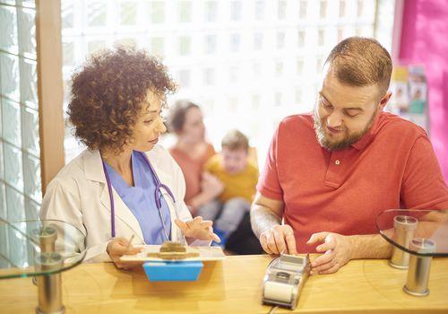 Settling his family's medical bill