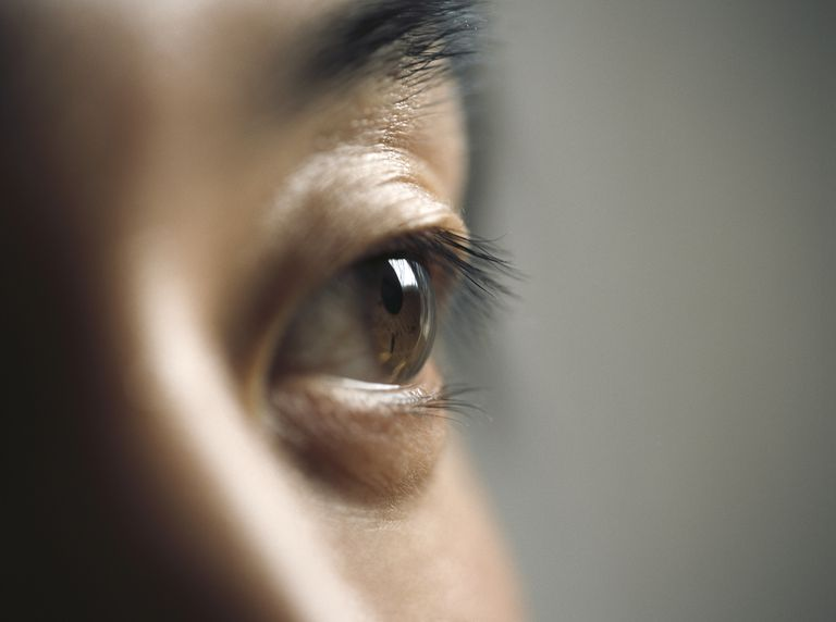 Young man, close-up (focus on eye)