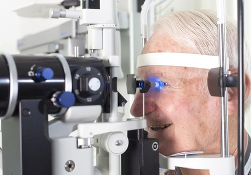 Intraocular pressure testing for glaucoma