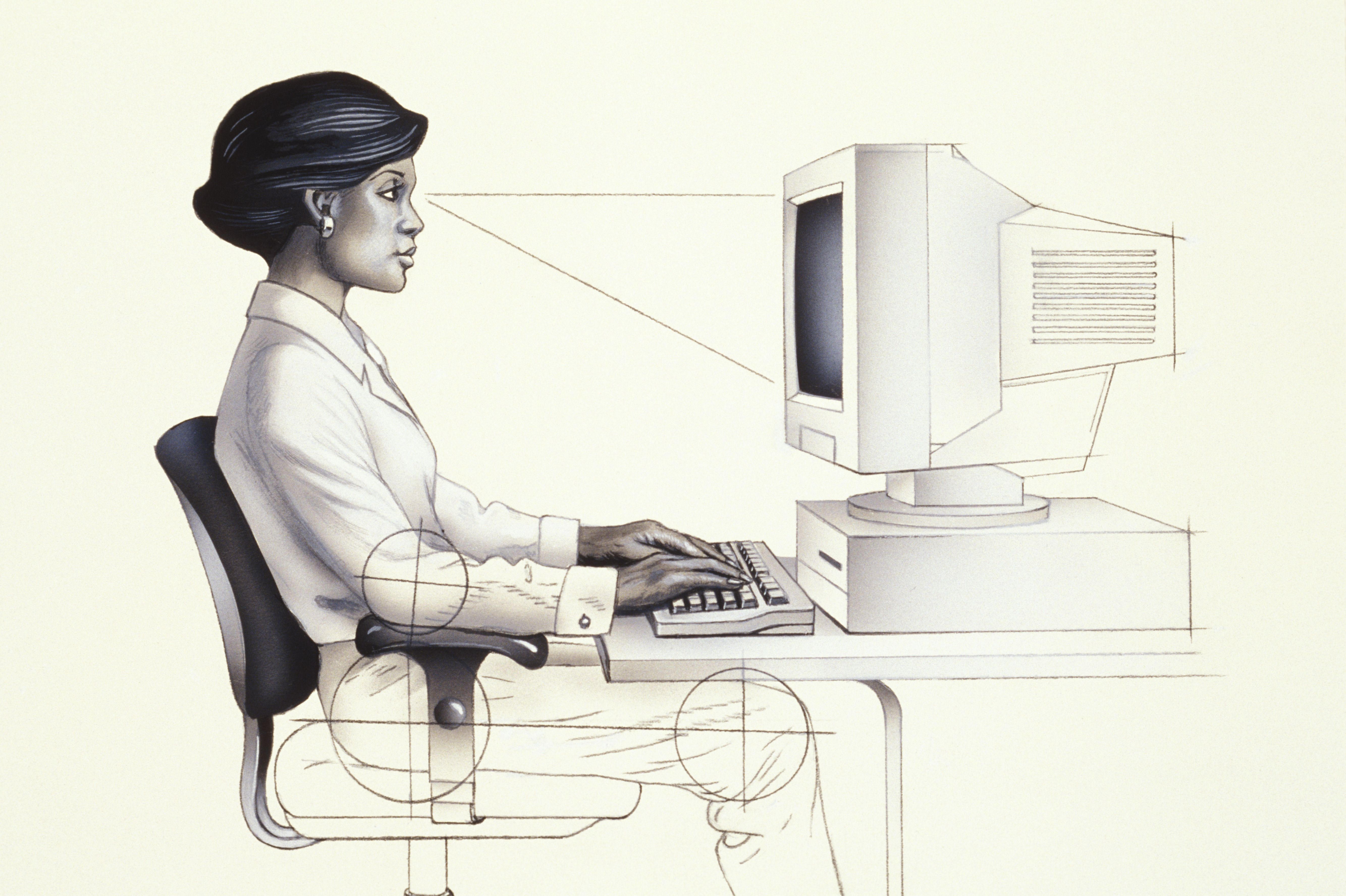 Astounding How Ergonomic Workstations Affect Your Neck And Back Wiring Cloud Brecesaoduqqnet