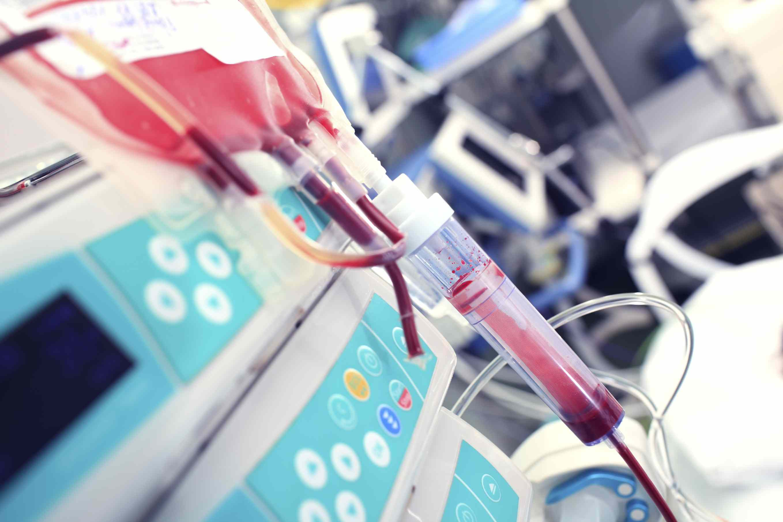 Close up of medical equipment