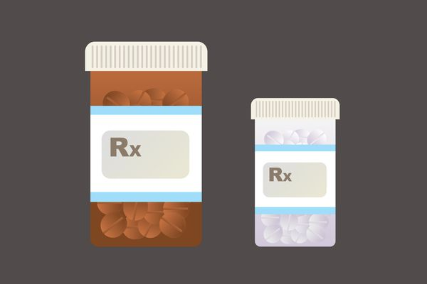 illustration of prescription pills