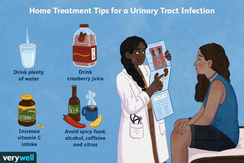 can you drink on uti antibiotics