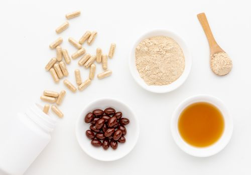 Maca Root capsules, powder, tincture, and gelatin
