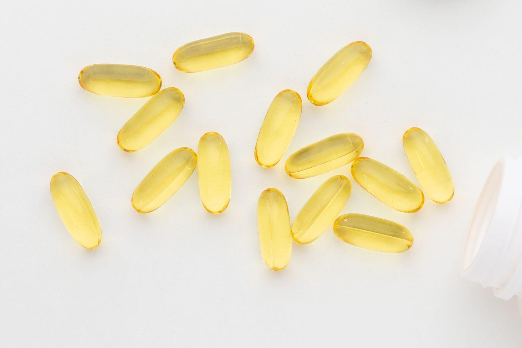 Primrose oil soft gels