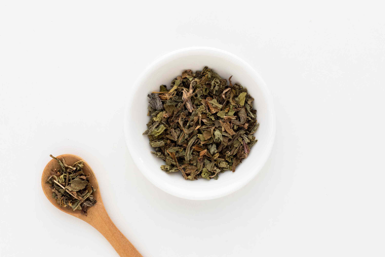 Wild lettuce dried herb