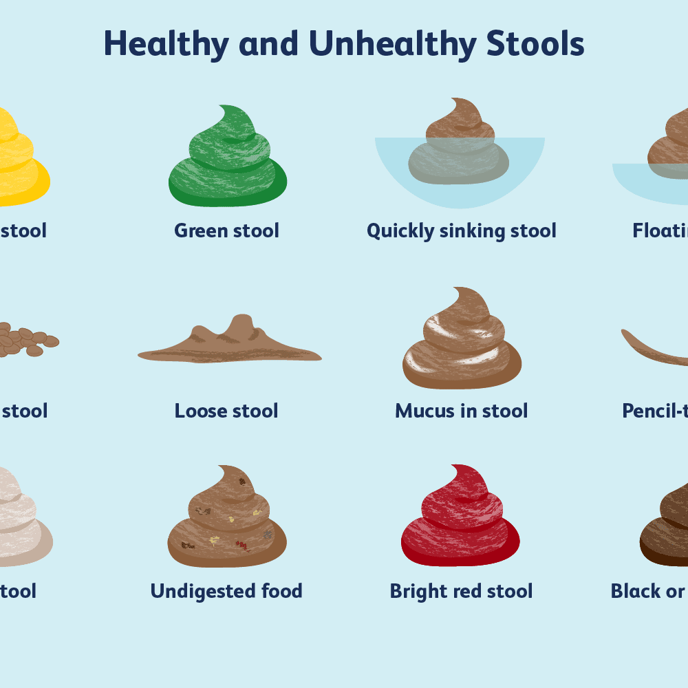 Healthy And Unhealthy Stool Poop Colors Explained