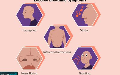 Labored Breathing Symptoms
