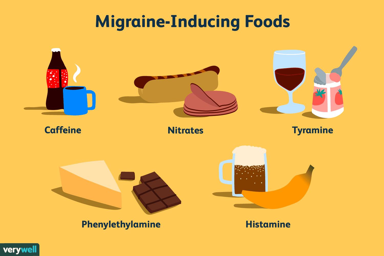 migraine-inducing foods