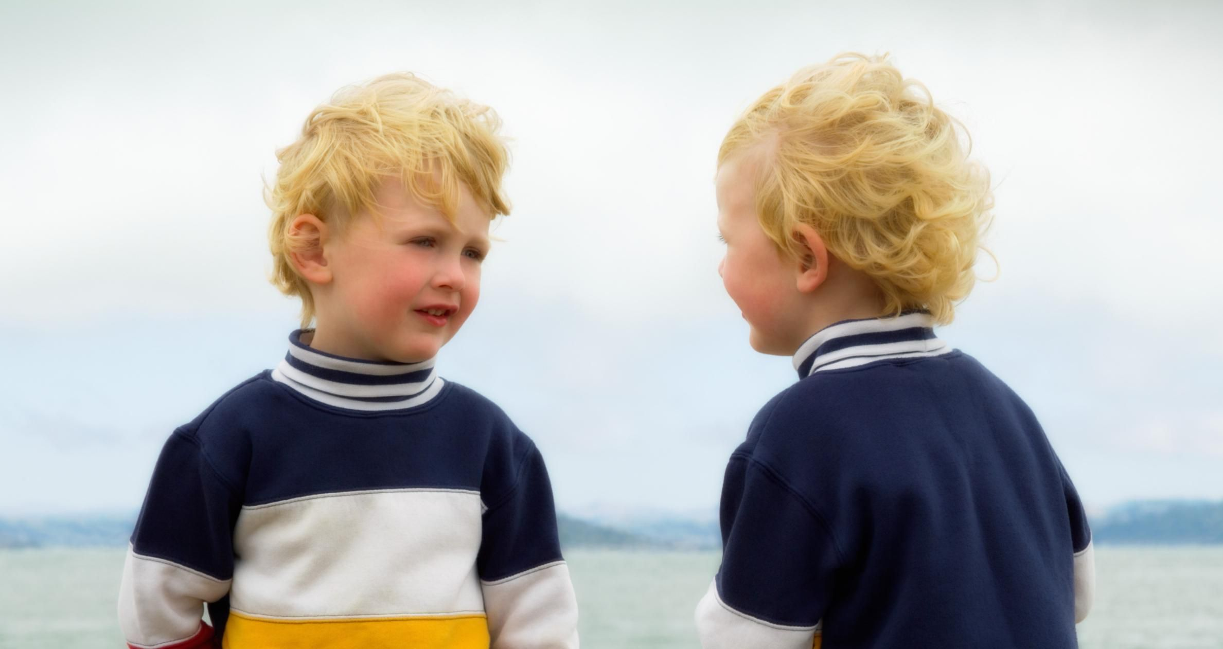 young twin boys