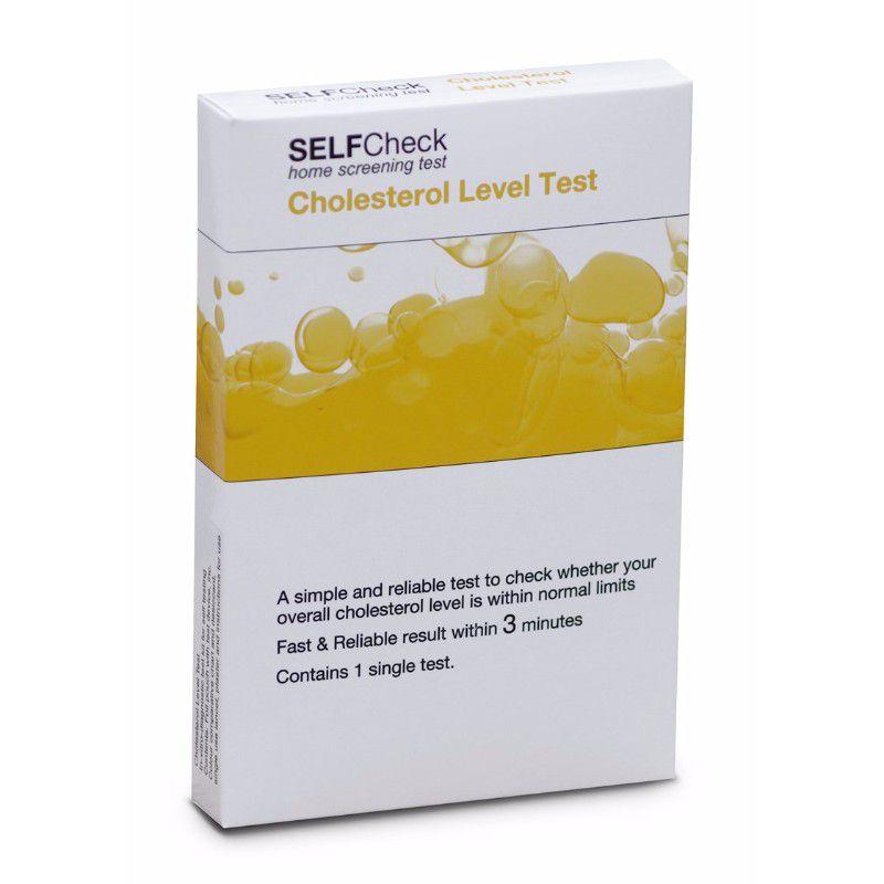 SELFCheck Cholesterol Test Kit