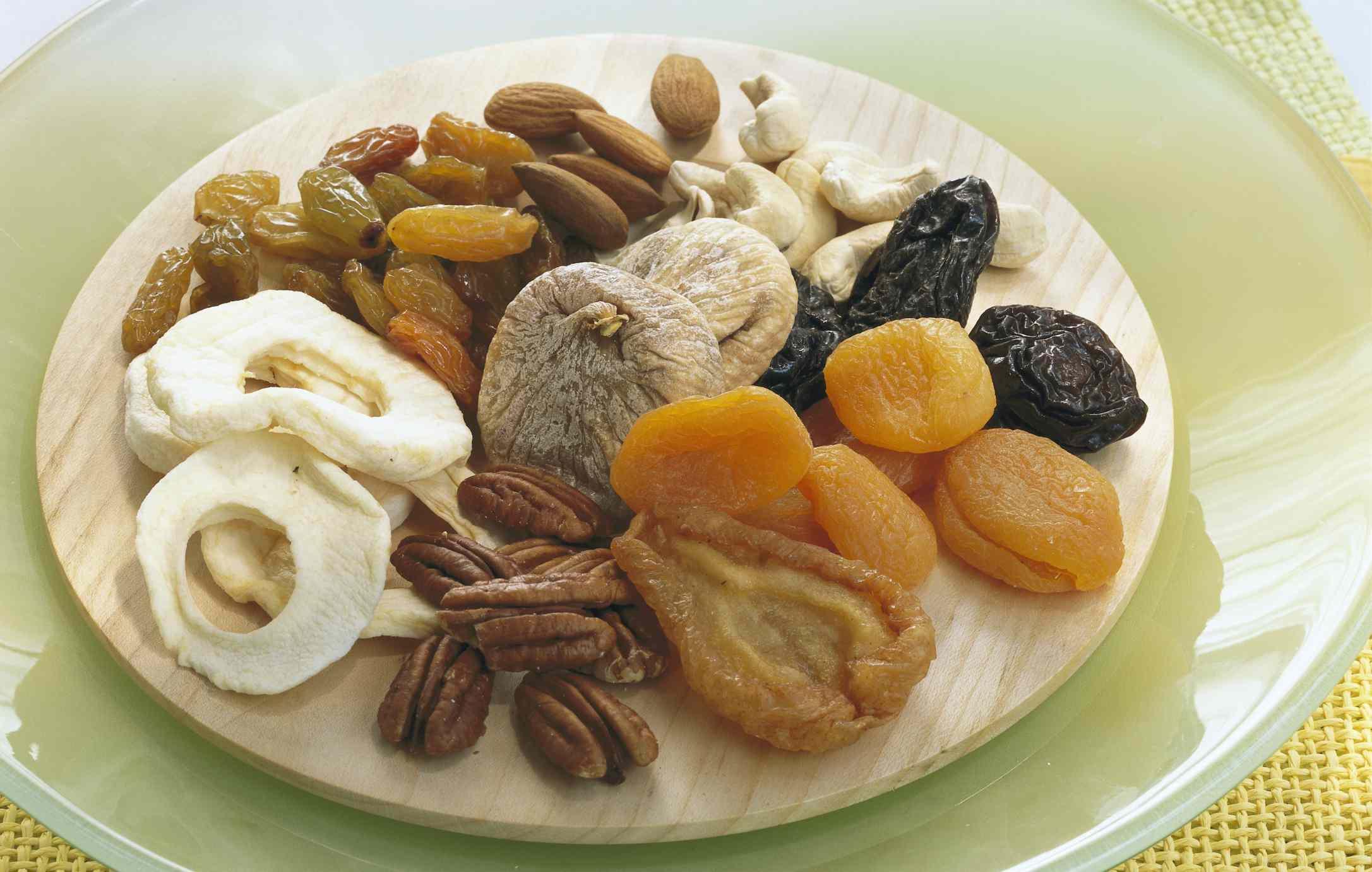 bowl dried fruit