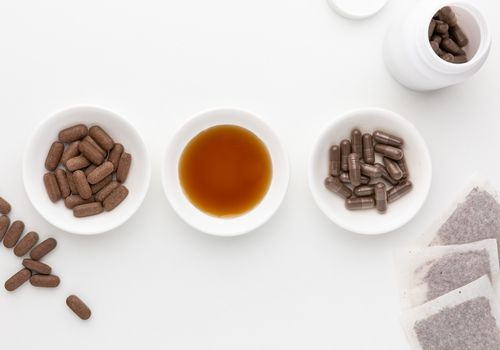 Pau d'arco capsules, tablets, tincture, and tea bags
