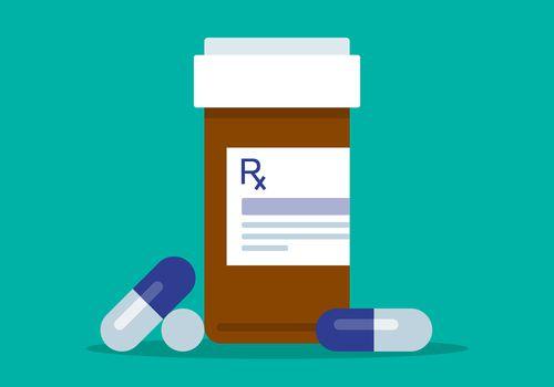 Prescription bottle.