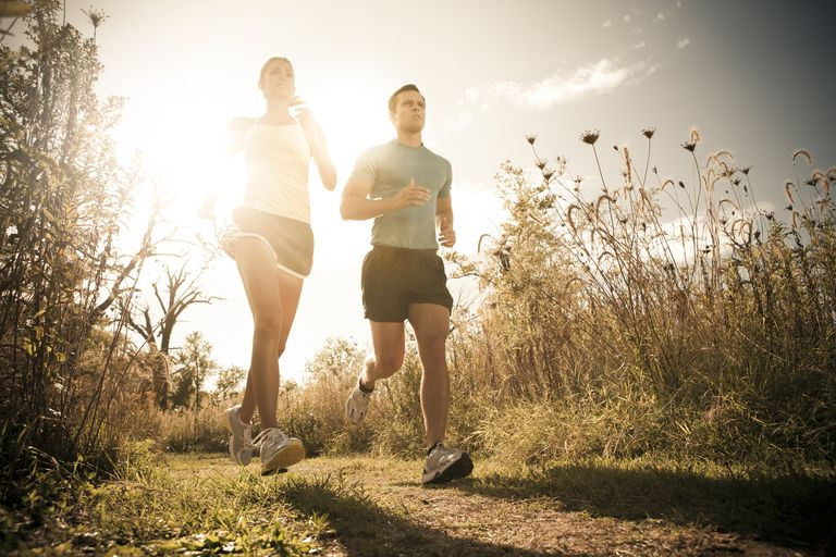 Running and other aerobic exercise leading to weight loss can lower high cholesterol levels in hypercholesterolemia