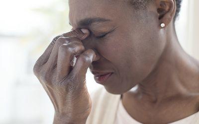 Feeling nasal pain