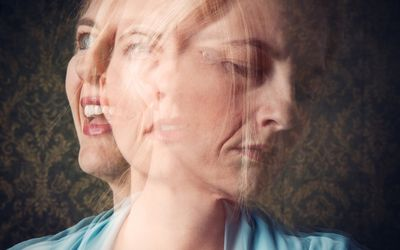 Bipolar disorder with swings from mania to depression