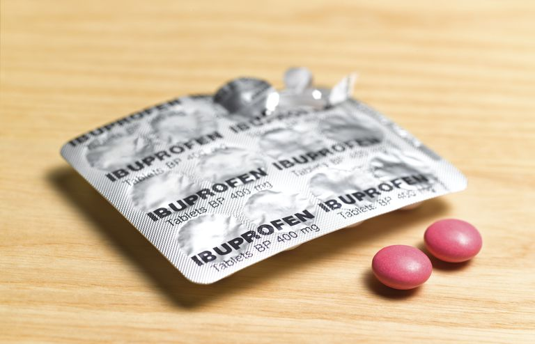 Ibuprofen pain relief tablets