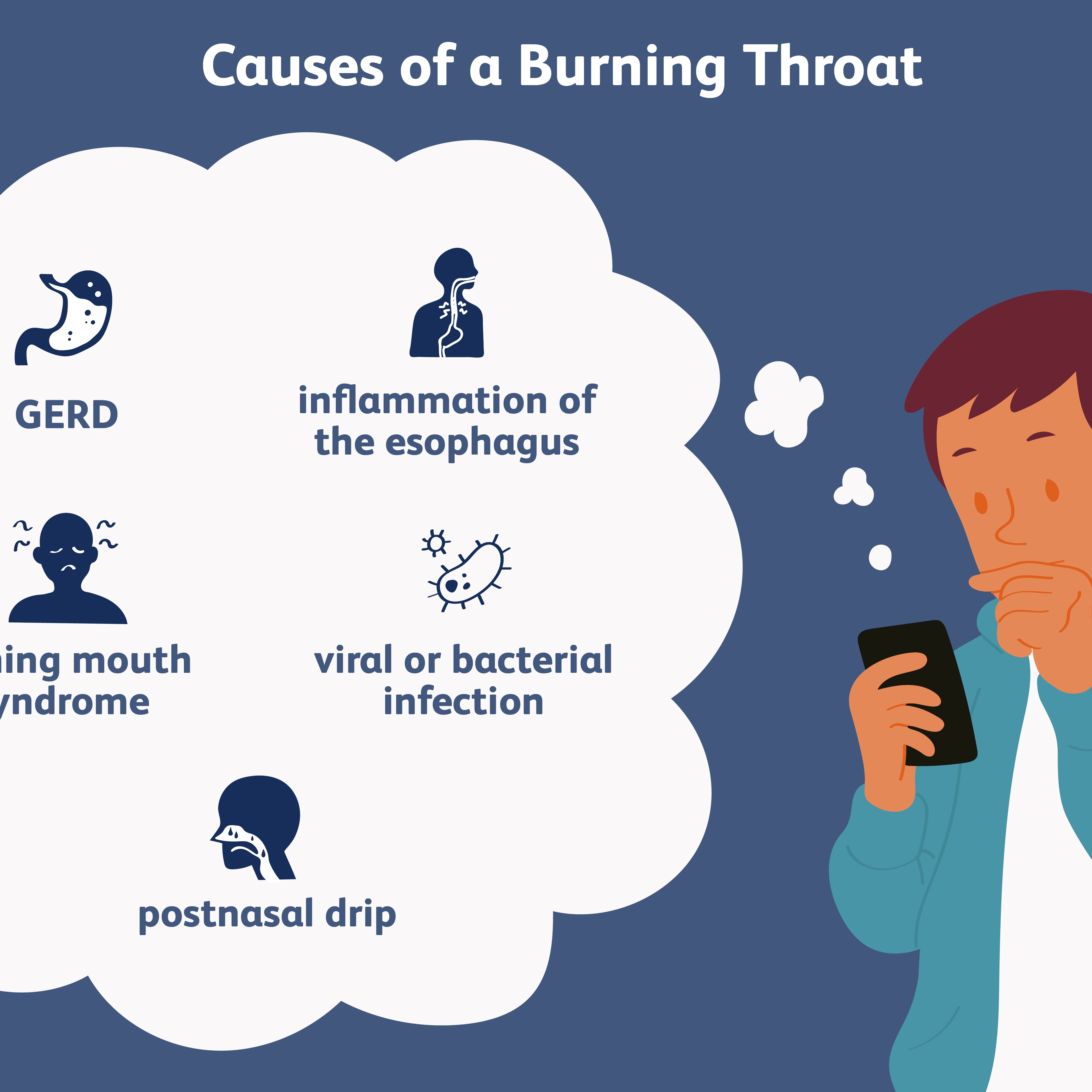 5 Possible Causes Of A Burning Throat