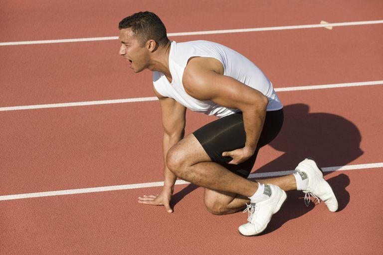 leg injury in runner